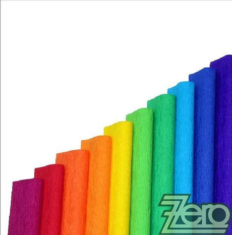 Papír krepový v roli 50 cm x 200 cm - různé barvy,