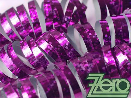 Serpentýny holografické 18 ks x 4 m - růžová,