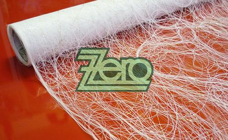 """Sizofiber """"pavučinka"""" 50 cm x 5 m - bílá se zlatým,"""