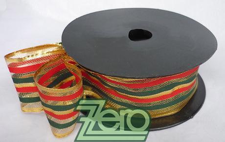 Stuha ozdobná 4 cm x 10 m - barevné pruhy,