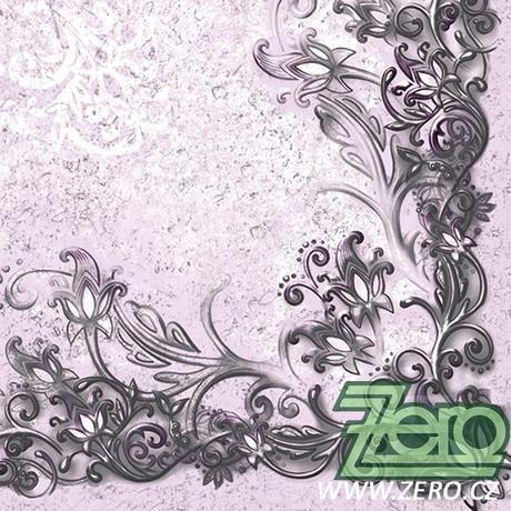 Ubrousky papírové s potiskem 20 ks - ornamenty,