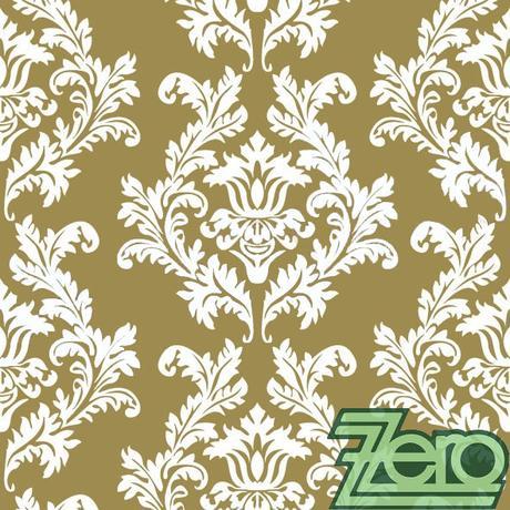 Ubrousky papírové s tiskem 20 ks - zlaté ornamenty,