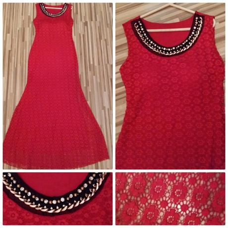 Červene spoločenske šaty, 38