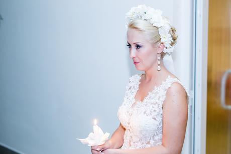 Romantické krajkové svadobne/popolnočne šaty v. 36, 38