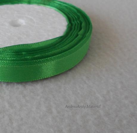 213-Saténová stuha zelená 1cm/3m-Skladem,