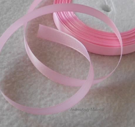 214-Saténová stuha růžová 1cm/3m-Skladem,