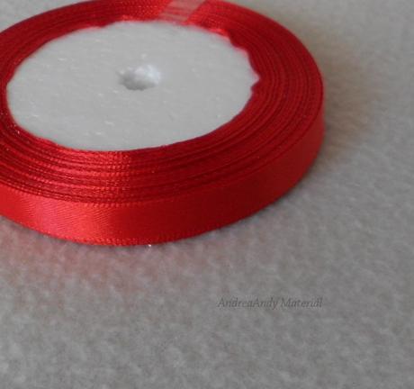 215-Saténová stuha červená 1cm/3m-Skladem,