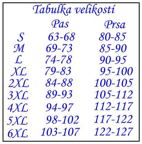 Bílý korzet 13, XL