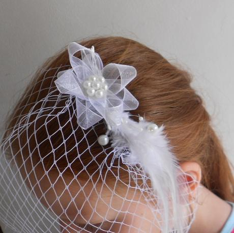 Francouzský závoj Sweet Bride 05,