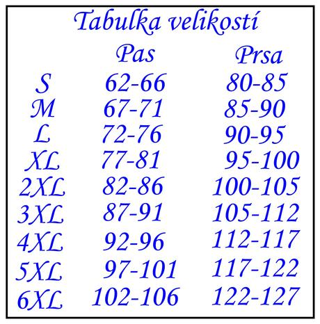 Gotický černobílý korzet 12, L
