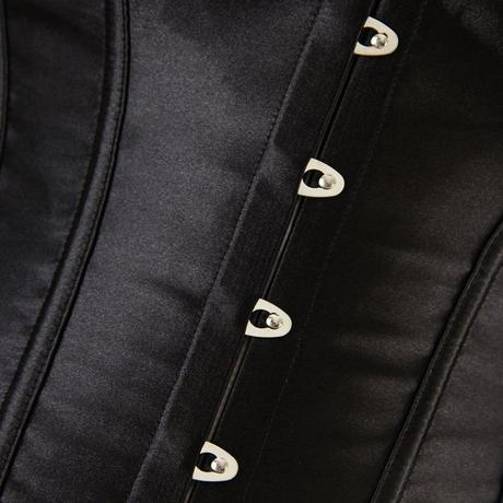 Korzet černý 06, XL