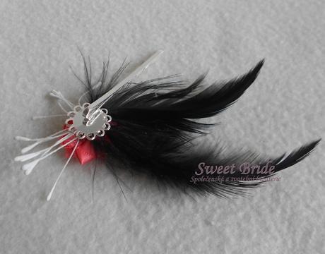Slavnostní spona Sweet Bride 07,