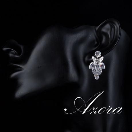 Společenské a svatební Náušnice Azora 06,