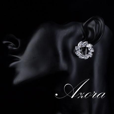 Společenské a svatební náušnice Azora 33,