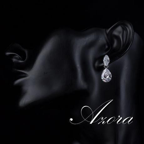 Společenské a svatební náušnice Azora 51,