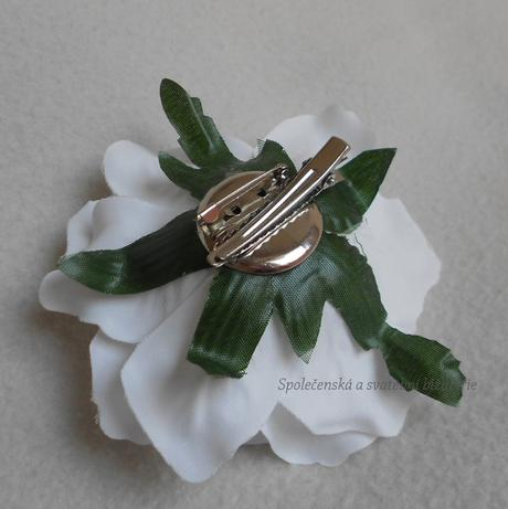 Svatební květ do vlasů 04,