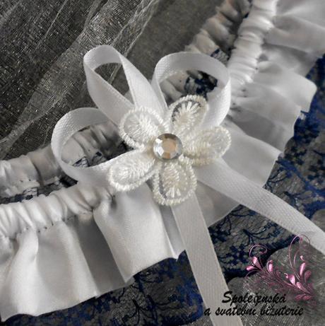Svatební podvazek 10, L