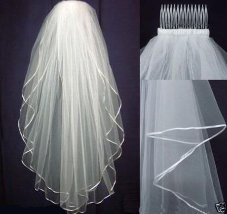 Svatební závoj ivory 03-SKLADEM,
