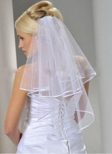Svatební závoj ivory 04-SKLADEM,
