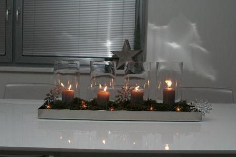 Skleněná váza - válec Ib laursen,