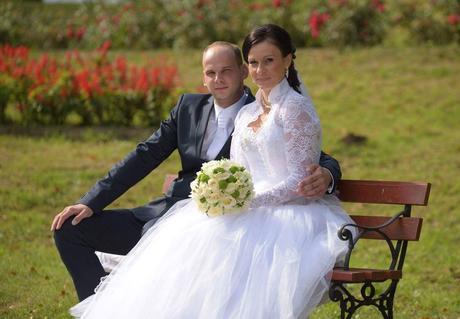 Nádherné svadobne saty, 38