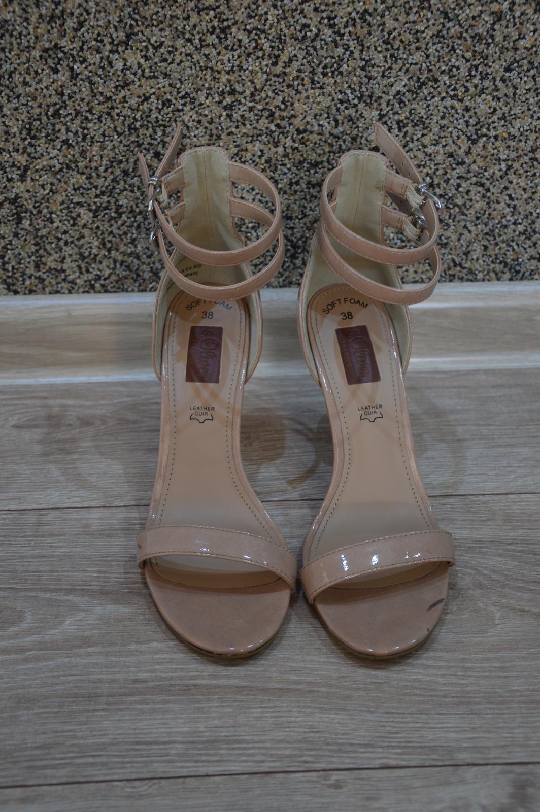 b63eb2087c7f Sandálky na podpatku s. oliver