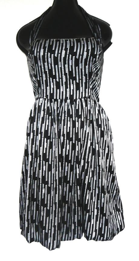příjemné šaty s balónovou sukní, L