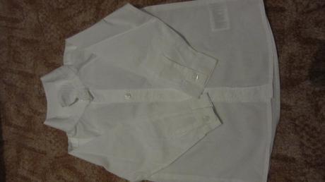 Bílá chlapecká košile , 86
