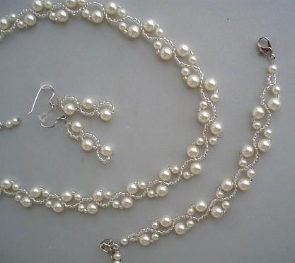 23b055e28 Svadobný set - swarovski perly, - 30 € | Svadobný bazár | Mojasvadba.sk