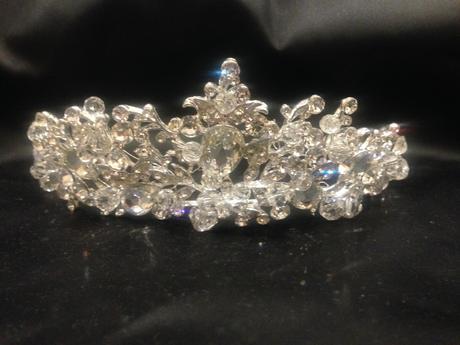 Luxusná svadobná korunka,