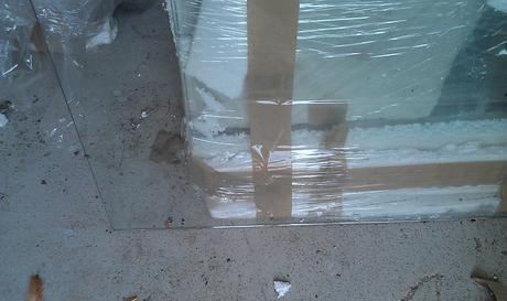 6x nabytkove sklene dvere + 1x darujem,