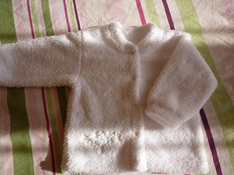 Krány hrubý kabátik oblečený 2X Baby Baby 80, 80