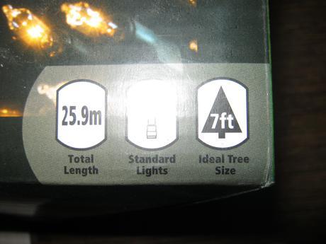 Svietidla vianočné 25m 1x použité cez vianoce2 bal,
