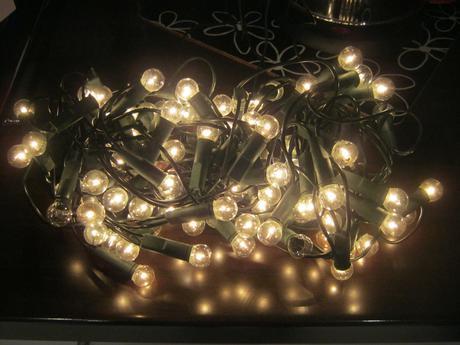 Svietidla vianočné guľky 100ks máličko použité ,