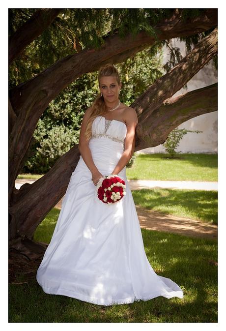 Svatební šaty - šité na míru, 38