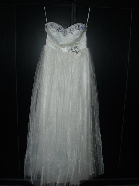 svadobné šaty vel. 36-38 s bolerom, 36