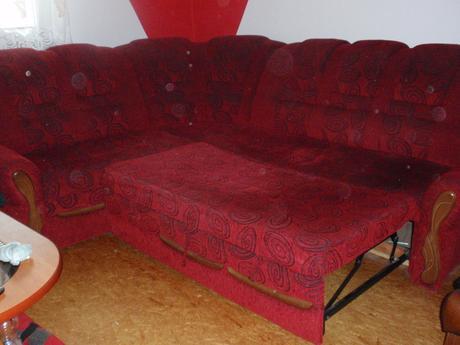 Rozkladací gauč,