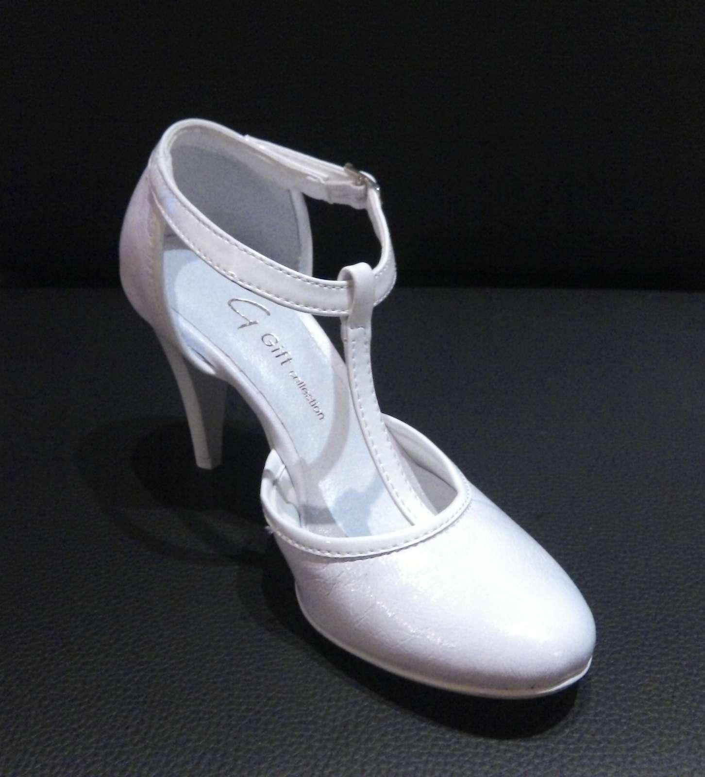 fc77767fff Svadobné topánky nové p-752 imitácia kože