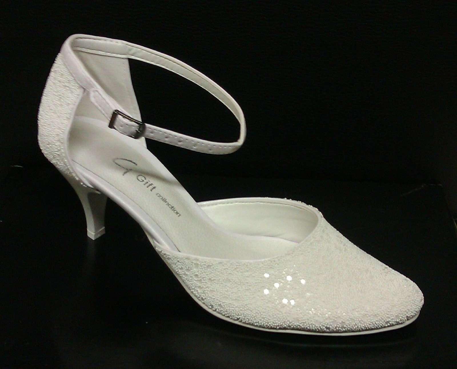 4536b4d7c7 topánky svadobné p- 020 perličkové
