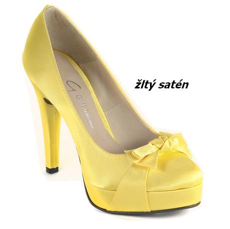 Svadobné topánky nové p- 356 satén 62f9bf77b4e