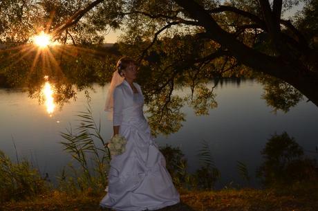 svadobné šaty - lacno, 38