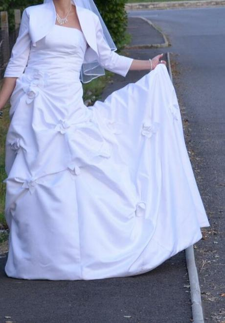 Svadobné šaty- lacno, 38