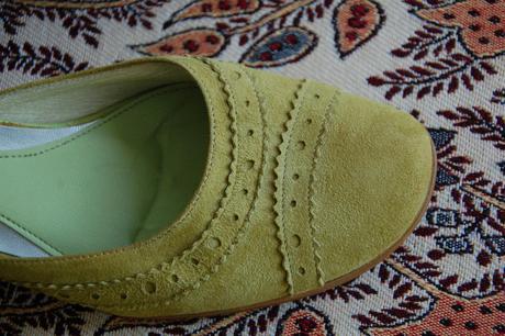 Kožené topánky - papučky, 38