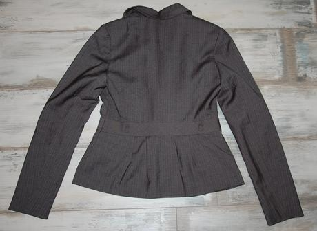 Nenosené šedé sako, Orsay, 38