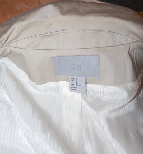 Vesta alebo sako s krátkym rukávom, H&M, 40