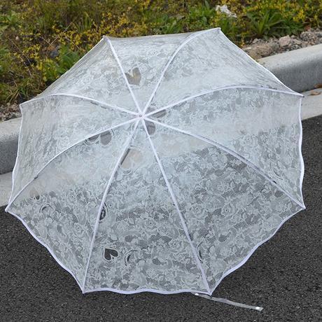 daždnik so srdiečkami,