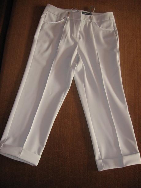 Dámsky nohavicové kostymy c.36 a c.38, 38