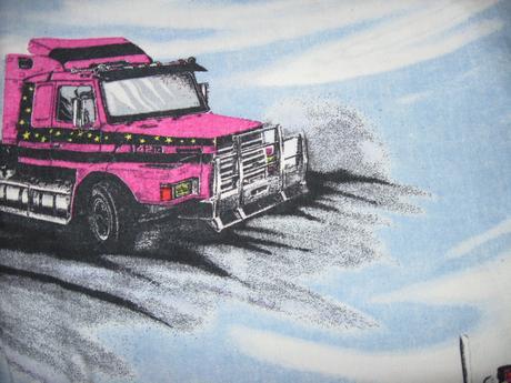 Detské obliecky s kamiónmi,