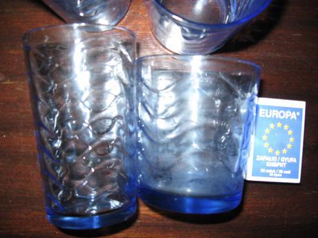 Modré poháre,