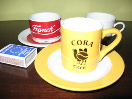 Sálky na kávu,